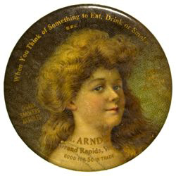 A. Arndt Pocket Mirror | Grand Rapids, Wisconsin