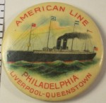 American Line Pocket Mirror