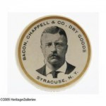 Bacon, Chappell, & Co Pocket Mirror | Syracuse, New York