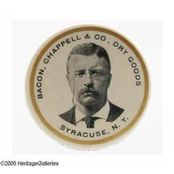 Bacon, Chappell, & Co Pocket Mirror   Syracuse, New York
