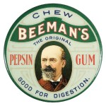 Beeman's Advertising Mirror