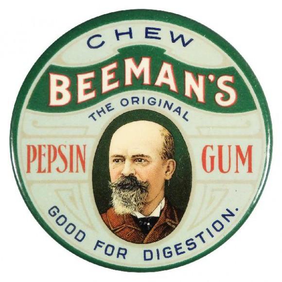 Beeman's Advertising Mirror