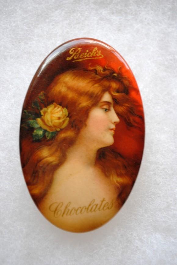 Beich's Chocolates Pocket Mirror