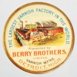 Berry Brothers Pocket Mirror | Detroit, Michigan