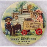Berry Brothers Advertising Mirror