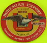 Bohemian Export Pocket Mirror | Peoria, Illinois