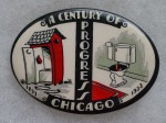 Chicago Progress Pocket Mirror | Chicago, Illinois