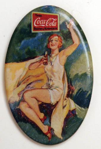 Coca-Cola Vintage Pocket Mirror