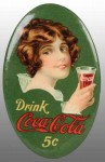 Coca-Cola Simple Pocket Mirror