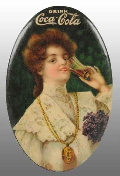 Coca-Cola Necklace Pocket Mirror