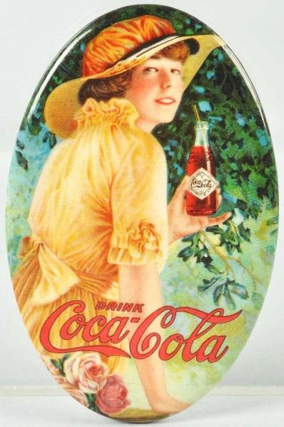 Coca-Cola Straw Pocket Mirror