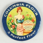 Columbia Flour Pocket Mirror | Minneapolis, Minnesota