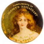 Dorsey's Restaurant Pocket Mirror