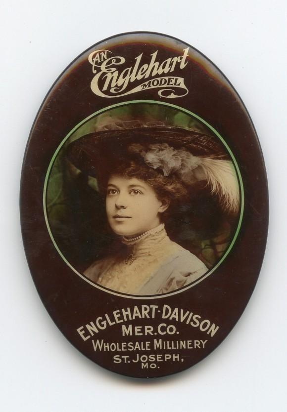 Englehart Pocket Mirror | St. Joseph, Missouri