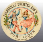 Evansville Brewing Pocket Mirror | Evansville, Indiana