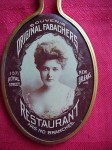 Fabachers Restaurant Pocket Mirror | New Orleans, Louisiana