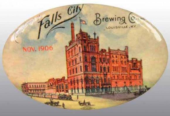 Falls City Brewing Pocket Mirror | Louisville, Kentucky