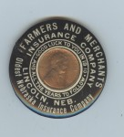 Farmers and Merchants Pocket Mirror | Lincoln, Nebraska