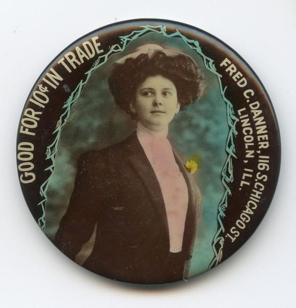 Fred Danner Pocket Mirror | Lincoln, Illinois