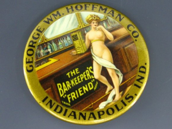 George Hoffman Pocket Mirror | Indianapolis, Indiana