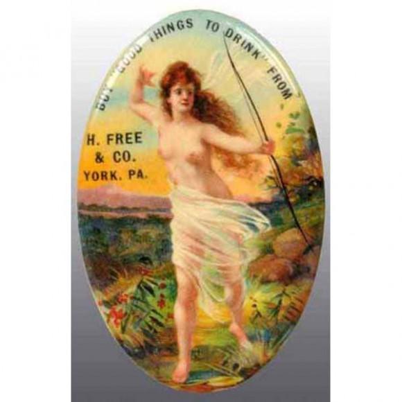 H. Free & Co. Pocket Mirror | York, Pennsylvania