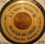 H.R. Penney Pocket Mirror | Omaha, Nebraska