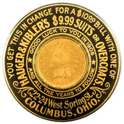 Hauger & Kibler's Pocket Mirror | Columbus, Ohio