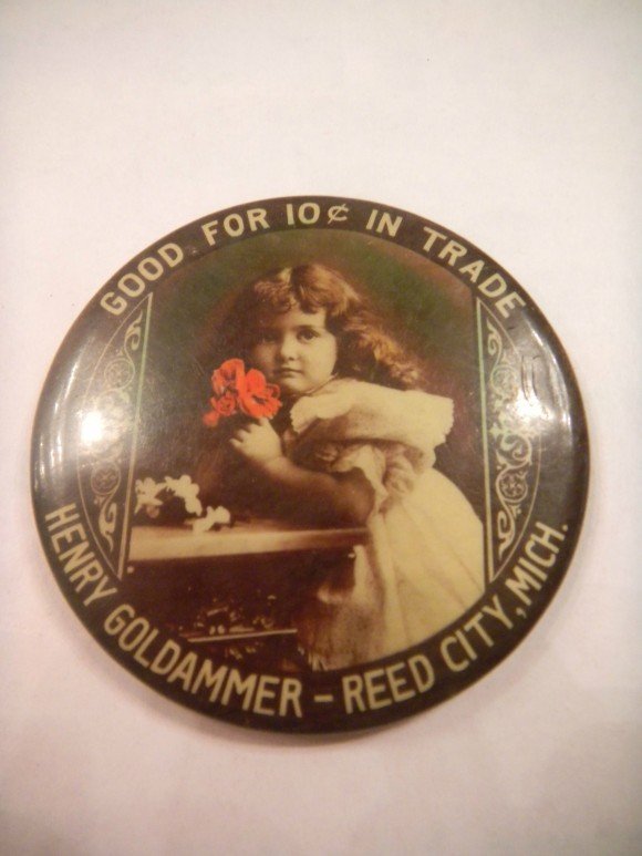 Henry Goldammer Pocket Mirror | Reed City, Michigan