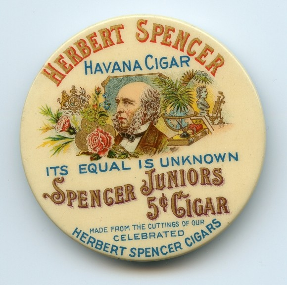 Herbert Spencer Pocket Mirror