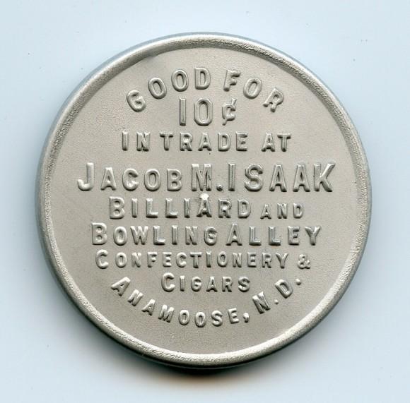 Jacob Isaak Pocket Mirror | Anamoose, North Dakota