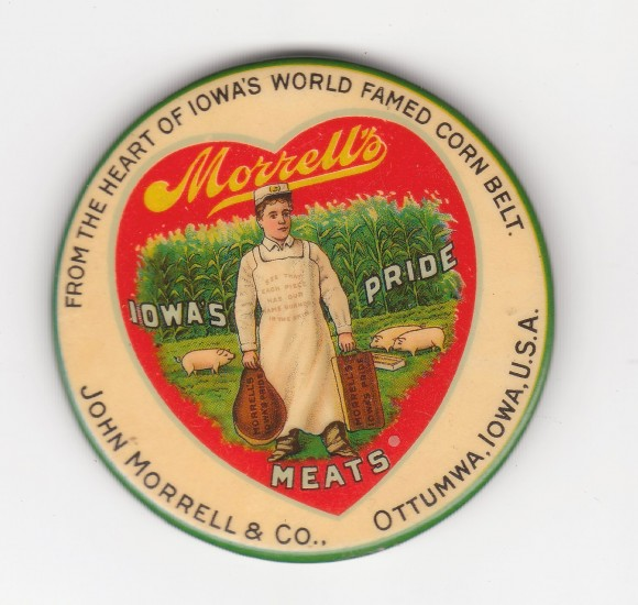 John Morrell Pocket Mirror | Ottumwa, Iowa