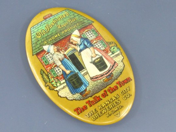 Kansas City Brewery Pocket Mirror | Kansas City, Missouri