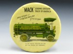 Mack Gasoline Pocket Mirror