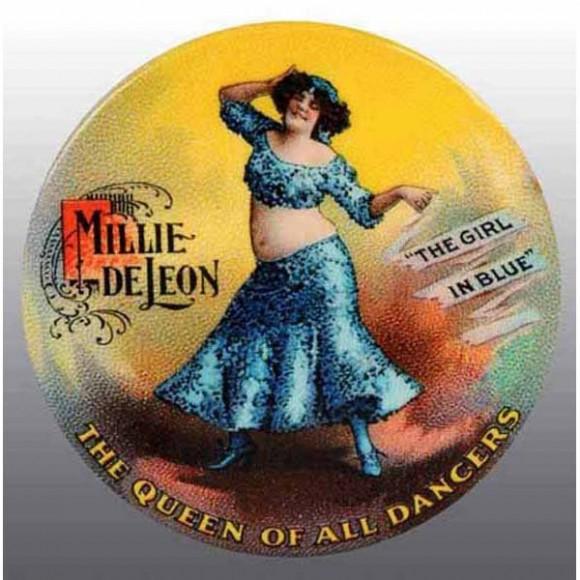 Millie De Leon Pocket Mirror