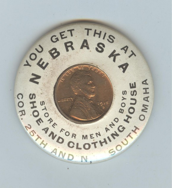 Nebraska Shoe Pocket Mirror | Omaha, Nebraska