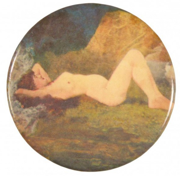 Nude Reclining Pocket Mirror