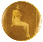 Nude Sitting Pocket Mirror