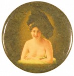Nude Smiling Pocket Mirror