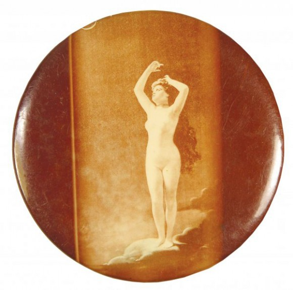 Nude Standing Pocket Mirror