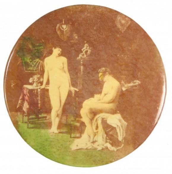 Nudes Talking Pocket Mirror