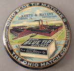 Ohio Match Pocket Mirror | Wadsworth, Ohio