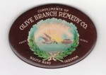Olive Branch Pocket Mirror | South Bend, Indiana