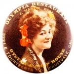 Olympia Restaurant Pocket Mirror | Fruitvale, California