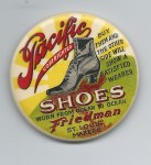 Pacific Shoes Pocket Mirror
