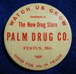Palm Drug Pocket Mirror | Festus, Missouri