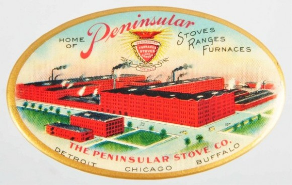 Peninsular Stove Pocket Mirror | Chicago, Illinois