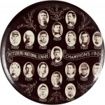Pittsburg League Pocket Mirror | Pittsburgh, Pennsylvania