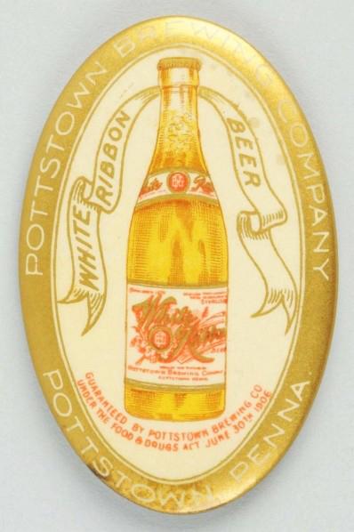 Pottstown Brewing Pocket Mirror | Pottstown, Pennsylvania