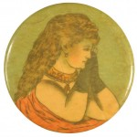 Praying Woman Pocket Mirror