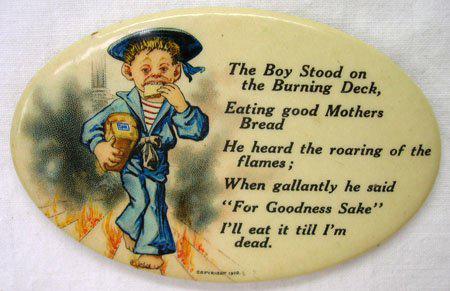 Sailor Boy Pocket Mirror
